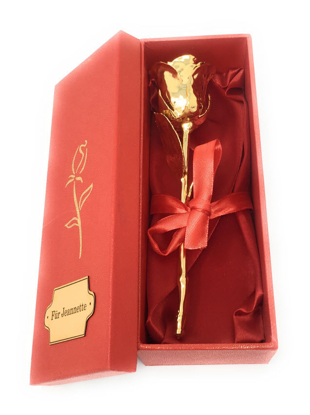 vergoldete Rose kaufen
